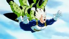 Vegeta thought letting Cell absorb Android 18 would result in a better challenge to his Time-Chamber-enhanced strength. Well, he was right that it became more of a challenge, but neglected to foresee that it would become an insurmountable one.