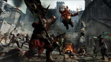 Choose from different races with their own perks and fight back against the invading demon tide in Vermintide 2