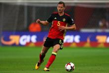 Jan Vertonghen plays defense for the Belgian national team