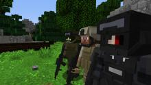 This mod provides a mixture between two unlikely games, Minecraft and Modern Warfare.