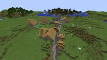These world seeds create massive villages, filled with fun structures to craft and mold. Create golems, build a house, and make it something uniquely yours.