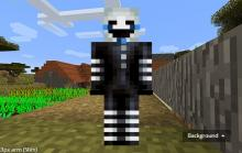 This Skin, inspired by the iconic puppet from the Five Nights at Freddy's franchise, is excellent for hardcore fans of the horror genre, or anyone deathly terrified of mannequins!