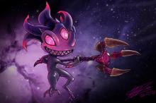Void Fizz is drawn in a whole new light in this cool picture