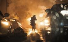This is a picture taken from Modern Warfare's campaign.