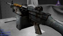 This grey weapon is definitely designed for war, nothing else!