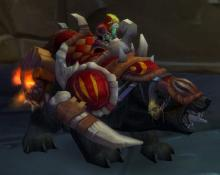 World of Warcraft Amani War Bear Battle Bear