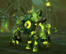 World of Warcraft Living Infernal Core Felblaze Infernal