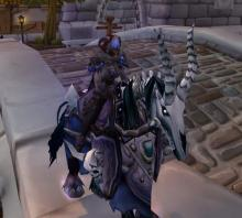 World of Warcraft Rivendare's Deathcharger