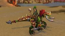 World of Warcraft Vicious War Raptor