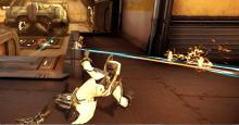 Tenno Operators have plenty of movement options in combat, even without Void powers!