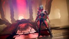 A kuva-themed Mesa guards the Kuva throne room