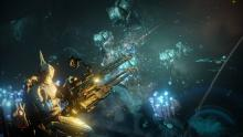 Using the archwing system on Uranus sealabs allows warframes to fight aquatically