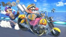 Wario's bike is a part of his soul
