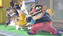 Pit just can't handle Wario's slaps