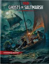 Ghosts of Saltmarsh is an adventure book from Wizards of the Coast that lets you explore the pirated isles of Saltmarsh, dipping through hidden coves and dodging cutthroat privateers
