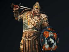 A rather dashing photo of the original Heavy class Hero of the Vikings