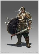 Early concept art for the Warlord