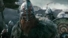 The Warlord as he appears in of the trailers for For Honor