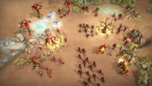 This real time strategy game allows you to fight dinos or control them.