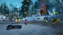 Gruesome view of a warsong battle between factions