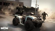 Snap of a quad being used in Warzone.