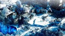 The beautiful, snowy scenery in Wasteland 3