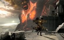 In God of War III, some of the boss fights are nothing less than epic proportion.