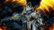 Chroma Prime using a Paracesis! Sentient Slayer Chroma!