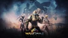 Beautiful wallpaper of Warframe's Plains of Eidolon update!