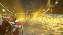 Excalibur Umbra landing the devastating final blow to these corrupted enemies!