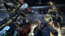 Wukong and his clone both pulverize a helpless Corpus Tech!