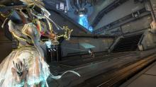 Ivara using her Artemis Bow to skewer her enemy!