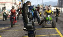 Practice wheelies for pop up daily objectives to earn extra cash!