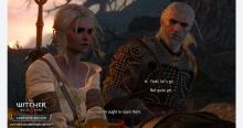 Ciri and Geralt of Rivia