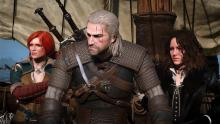 Geralt is joined by his beautiful Witches, Yennefer and Triss
