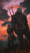 Geralt and Ciri embark on their quest to defeat the Wild Hunt