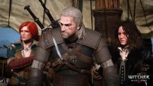 Geralt can't seem to choose between these two lovely sorceresses.
