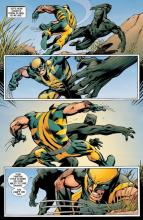 This fight shows how Wolverine's fighting style can be detrimental.