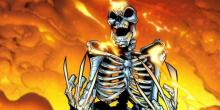 Wolverine burned all the way down to his skeleton which is indestructible.