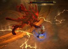 Fight Against Diablo in Act I