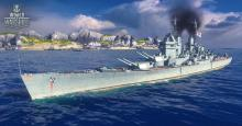 The Conqueror is the tier X U.K. battleship with a great heal and high fire chance