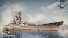 The Yamato is the Japanese tier X Battleship with huge guns and thick armor