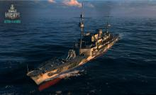The Hermelin is the tier I German cruiser and the has the best speed at that tier