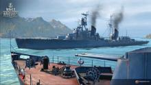 Russian cruisers have long ranged guns but are quite fragile