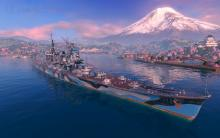 Cruisers in World or Warships are the medium-sized ships and can do almost any task