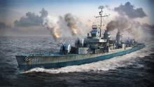 American destroyers have great guns, maneuverability and AA