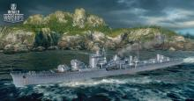 The Harugumo is the tier X Japanese destroyer with fast firing guns and a lot of health