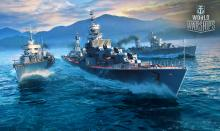 Russian destroyers have long range guns and high speed