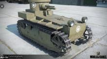 Make a surprise attack with the fastest Tier 1 tank around!