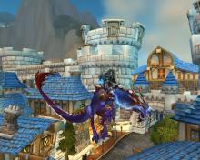World of Warcraft Thundering Cobalt Cloud Serpent